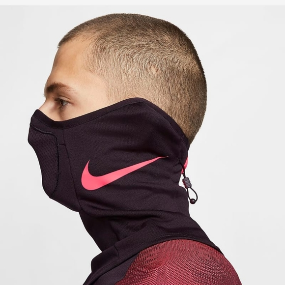 nike fleece neck warmer black
